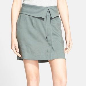 Vince Army Green Skirt With Pockets!
